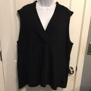 😎🌟😎Cato Sleeveless Black sweater
